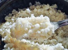 Gluten Free SCD and Veggie: Cauliflower Rice GF SCD Scd Recipes, Veggie Recipes, Real Food Recipes, Veggie Food, Gluten Free Recipes, Vegetarian Recipes, Cooking Recipes, Healthy Recipes, Grain Free Bread