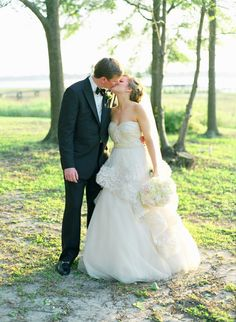 A Parisian Inspired Southern Wedding.. This Steal Worthy affair looks like a page out of some great French romance film. ~ Photo by Gayle Brooker