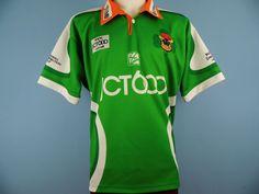 RETRO BRADFORD BULLS RUGBY LEAGUE SHIRT 2004 SIZE MEDIUM FIELDEN IRISH CHARITY