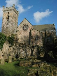 Culross Abbey - Fife, Scotland