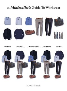 Effortless Guide To Men's Work Week