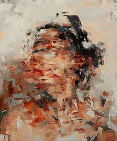 New Beginning Giclee art print of original oil por kaisamuelsdavis Abstract Portrait, Portrait Art, Portrait Paintings, New Beginnings, Fine Art Paper, Painting & Drawing, Art Inspo, Illustration Art, Contemporary Art