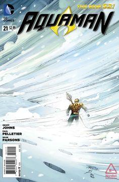 Aquaman 21. Art & cover by Paul Pelletier