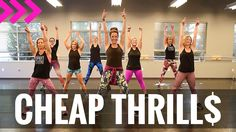"""Cheap Thrills"" by Sia. SHiNE DANCE FITNESS                                                                                                                                                      More"