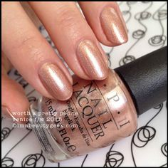 OPI Worth a Pretty Penne – OPI Venice Collection 2015