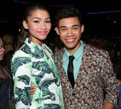 Roshon fegan and zendaya