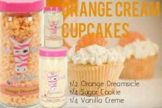 Orange Cream Cupcakes | A ground floor opportunity. Contact me for more information. | www.pinkzebrahome.com/kellyakerman | www.facebook.com/pzbykelly | www.facebook.com/groups/pzbykelly