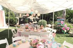 Hostess with the Mostess® - {Maddie in Wonderland | A 3rd Unbirthday}