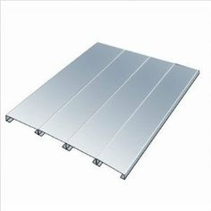 Hallowell Rivetwell EZ-Deck Decking - Galvanized Steel - 72 in. W x 30 in. Solar Panel Cost, Solar Panels For Home, Home Office Desks, Home Office Furniture, Galvanized Sheet, Diy Deck, Deck Plans, Landscaping Software, Outdoor Landscaping
