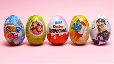 5 Surprise Eggs - OZMO, Masha & the Bear, Harry Potter, Phineas and Ferb...