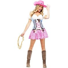 Amazon.com: Western Rodeo Sweetie Cowgirls Adult Costume (X-Small):... ($20) ❤ liked on Polyvore featuring costumes, adult cowgirl costume, white costumes, western halloween costumes, cowboy halloween costume and adult costume