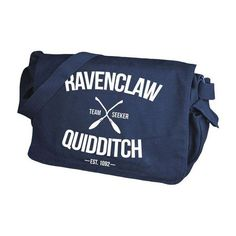 Ravenclaw Quidditch Navy Messenger Bag ❤ liked on Polyvore featuring bags, messenger bags, print messenger bag, navy messenger bag, pattern messenger bag and pattern bag