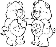 Pictures Care Bear Coloring Pages
