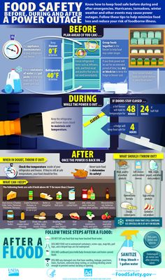 Food Safety Education Month is more hands-on this year for those affected by Hurricane Florence as the USDA Food Safety and Inspection Ser. Emergency Preparedness Kit, Emergency Preparation, Emergency Supplies, Power Outage Preparedness, Power Outage Kit, Emergency Planning, Emergency Management, Emergency Food, Hurricane Preparedness Kit
