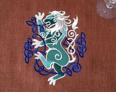Check out our celtic embroidery patch selection for the very best in unique or custom, handmade pieces from our sewing & needlecraft shops. Shield Maiden, Embroidery Patches, Celtic, Handmade, Etsy, Art, Art Background, Hand Made, Kunst