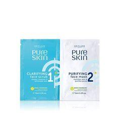 Pure Skin 1 Clarifying Face Scrub &