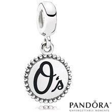 Baltimore Orioles MLB Dangle Unforgettable Moment Charm by PANDORA® Jewelry
