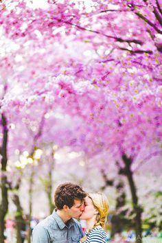 Washington DC Engagement Photography: Sarah and Eric Hike at Billy Goat Trail