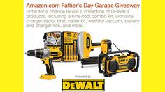 amazon dewalt father's day