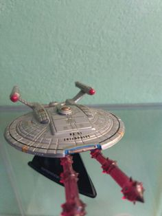 Enterprise NX-01 Shooting torpedos