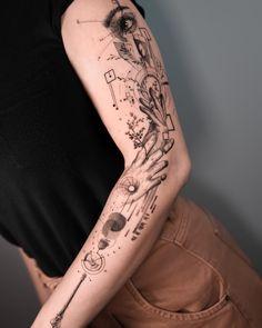 Weird Tattoos, Top Tattoos, Mini Tattoos, Unique Tattoos, Tattos, Sleeve Tattoos, Tattoo Sydney, Realism Tattoo, Tattoo Artists