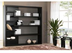 "Mountain Wall Unit-BL, Scandinavian Designs, $649. 78.75"" W x 14 D x 78.75"" H"