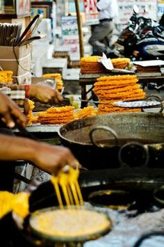 Street Food in India. #streetfood