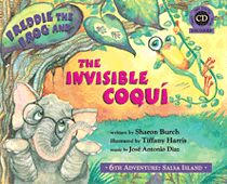 Freddie the Frog® and Eli the Elephant are led by an unseen guide to the secret world of the invisible coqui. The coqui speak Spanish and love to play salsa music and dance through the night. Help Freddie and Eli learn the Latin rhythms to discover the identity of their mysterious hosts! Audio CD includes a read-along dramatization, a sing-along song, and play-along Latin rhythm tracks. Kid-friendly salsa dance steps are located at the end of the story. Suggested for Grades K-3