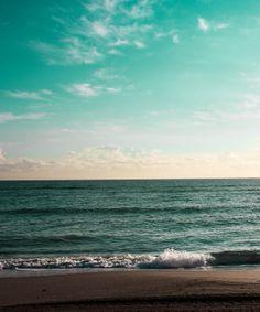 Fine Art Photograph Beach seascape ocean sky waves  by paulasantos, $10.00
