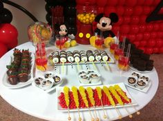 Mickey mouse candy bar. Black, white, red and yellow