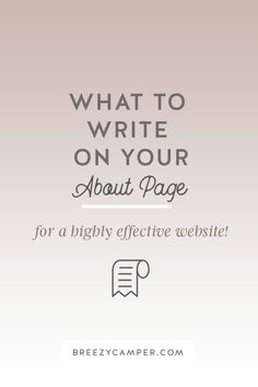 I'm going to take away the overwhelm and show you exactly what you need to include in your About Page so you can easily convert your readers into fans. Read on!