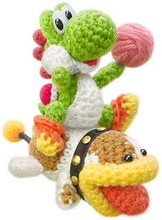 Yoshi's Woolly World™ for Wii U - Official Site