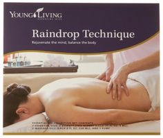 RAINDROP Technique - detailed instructions and video. The Raindrop Technique is a method of using Vita Flex, reflexology, massage techniques, etc., and essential oils applied on various locations of the body to bring it structural and electrical alignment. It is designed to bring balance to the body with its relaxing and mild application. It will help align the energy centers of the body and release them if blocked.