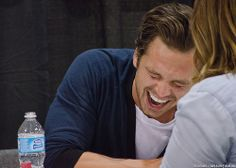 Omg that smile/laugh....What nice teeth you have! Can I share a laugh with you?????