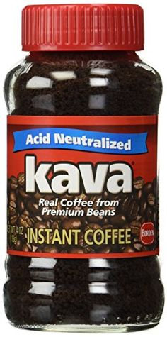 Kava is made from premium coffee beans for a delicious flavor and aroma. Kava is Acid Neutralized so you can enjoy a rich, full bodied taste without the bitterness. 15 times less acid than other leading brands. Real Coffee, Coffee Type, Coffee Pack, Best Instant Coffee, Different Types Of Coffee, Jars For Sale, Premium Coffee, Coffee Uses, How To Make Coffee
