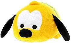 "Authentic US Disney Store Pluto Medium 11"" Tsum Tsum Plush NWT!! Sold out!"