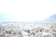 La bella vista su Bellinzona e il Piano di Magadino