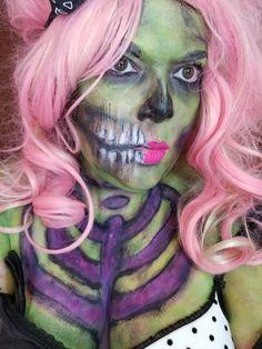 Horror Makeup, Halloween Face Makeup, Scary Makeup
