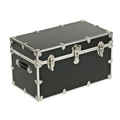 The Container Store > Locking Trunk with Wheels
