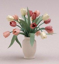 how to: very realistic tulips   pepperwoodminiatures.com