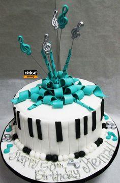 Wonderful Picture of Music Birthday Cakes . Music Birthday Cakes This Was A Music Themed Birthday Cake For A Musician The Sides Birthday Cake 30, Music Birthday Cakes, 1st Birthday Foods, Music Themed Cakes, Music Cakes, Adult Birthday Cakes, Girl Birthday, Birthday Ideas, Piano Cakes