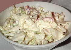 A húsos ételek mellé is tálalhatjuk, de annyira finom, hogy akár önmagában, pirítóssal is fogyaszthatjuk! Képtelenség megunni ezt az ízt! Hozzávalók: 1 fej káposzta (kb. 1 kg.) 2 sárgarépa 2 lila hagyma 3 evőkanál majonéz 4 evőkanál...