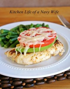 The Kitchen Life of a Navy Wife: Avocado Chicken