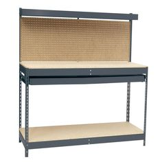 Edsal 48 in. W x 24 in. D Workbench with Storage-MRWB-4 - The Home Depot