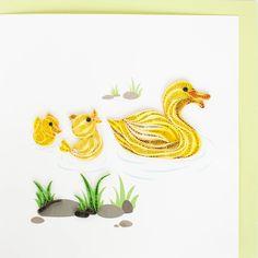 quilled ducks