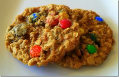 Ann Romney's M & M Cookies with PB and Oats from Family Circle Magazine via bakingandboys.com #Cookies #M_&_M_Cookies #familycircle #bakingboys