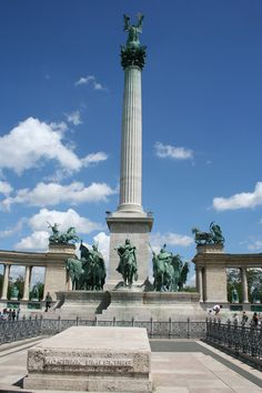 Heroes' square (Hösök tere), Budapest