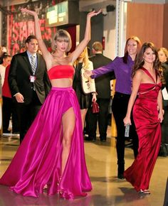 Taylor Swift & Selena Gomez from Grammys 2016 Candid Moments These BFFs are having the best night.