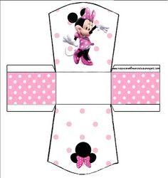 Kit Completo Minnie Rosa - Com molduras para convites, rótulos para guloseimas, lembrancinhas e imagens!