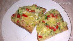 Cuketové topinky Avocado Toast, Guacamole, Baked Potato, Potatoes, Dinner, Baking, Breakfast, Ethnic Recipes, Easy